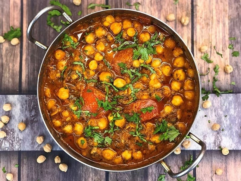Chana Masala Chickpea Curry