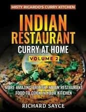 Indian Restaurant Curry at Home Volume 2 Front Cover