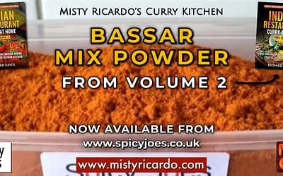 Bassar Mix Powder Now Available from Spicy Joes