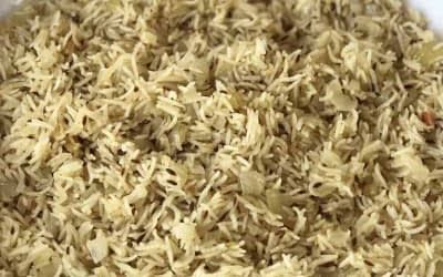 Cumin & Onion Rice Recipe