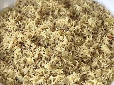 Cumin & Onion Rice