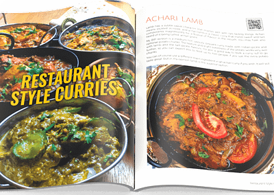 Indian Restaurant Curry at Home Volume 2 - Open Pages