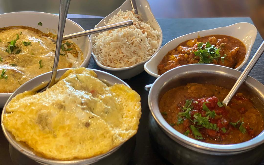 Dining at Rama Spice