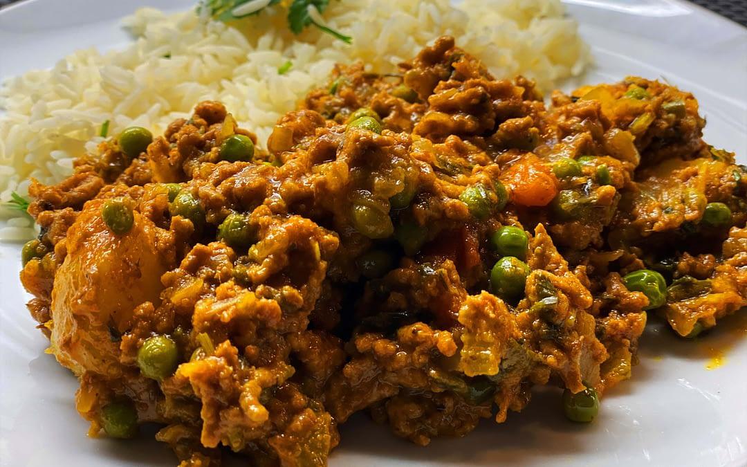 Aloo Keema Matar Recipe