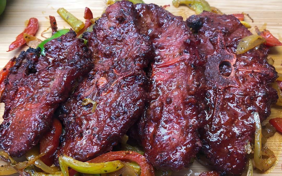 Sweet & Spicy Lamb Chops Recipe