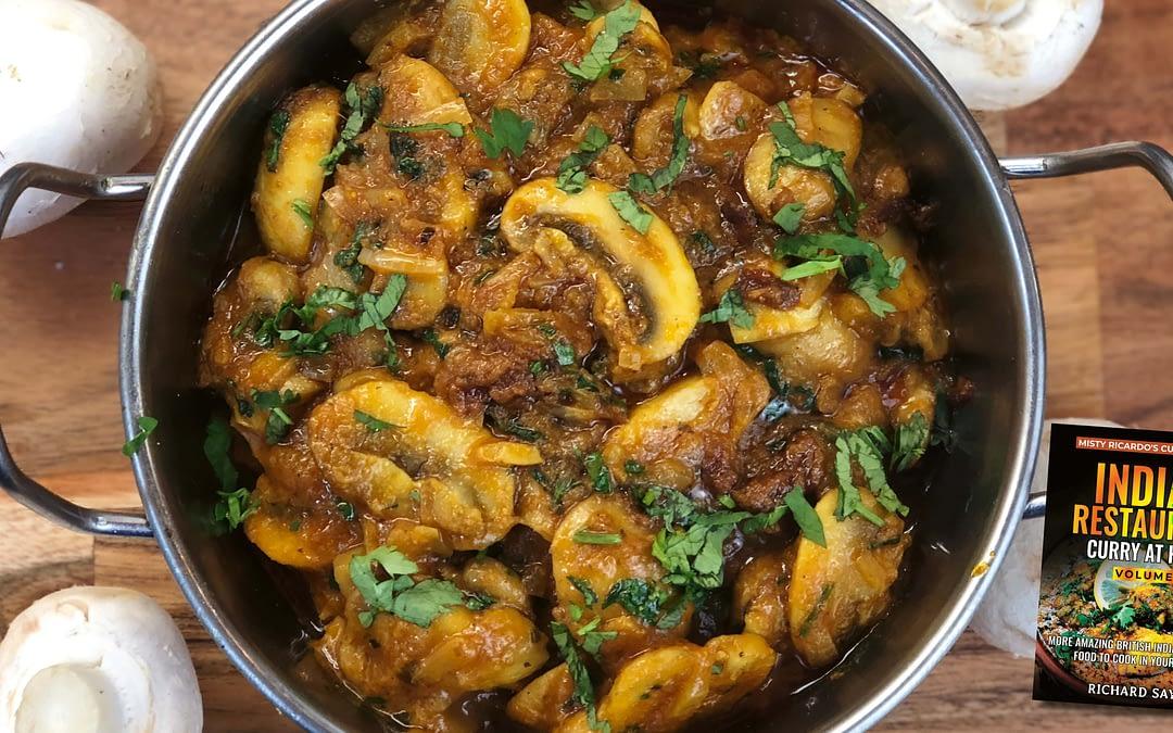 Mushroom Bhaji Recipe