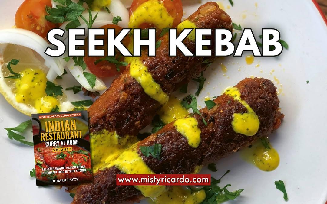 Seekh Kebab Recipe