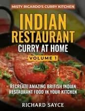Indian Restaurant Curry at Home Volume 1 Front Cover