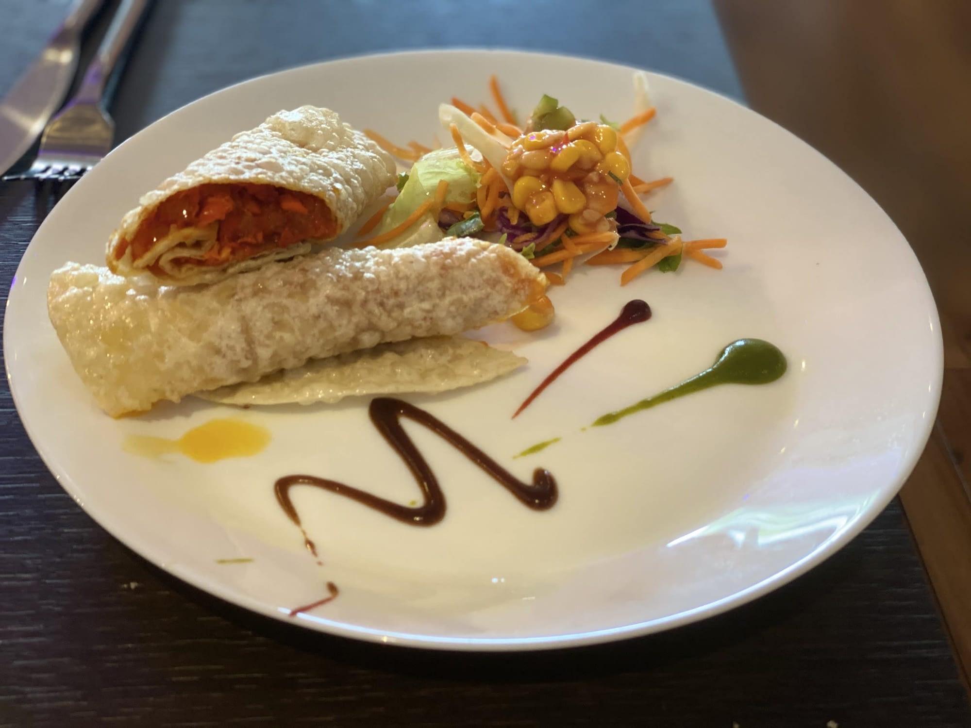Rama Spice - Chicken Chaat Puri