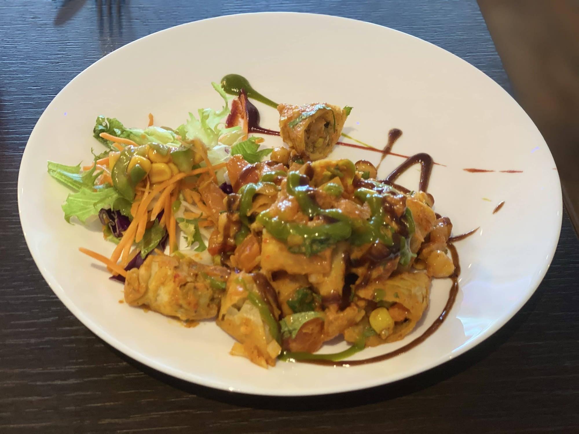 Rama Spice - Samosa Chaat