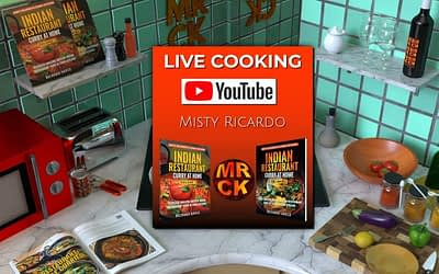 Live Cooking on YouTube