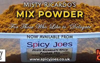 Misty Ricardo's Mix Powder at Spicy Joes
