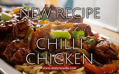 Christian's Chilli Chicken Recipe