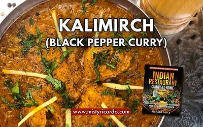 Kalimirch (Black Pepper) Curry Recipe