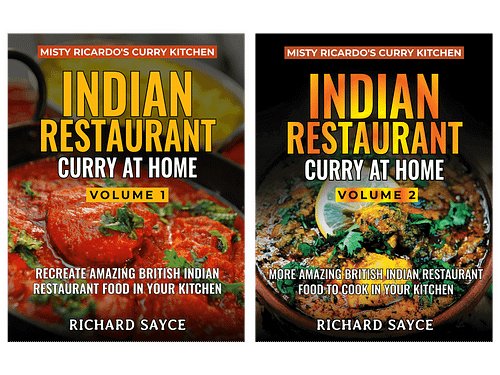 Indian Restaurant Curry at Home Volumes 1 & 2
