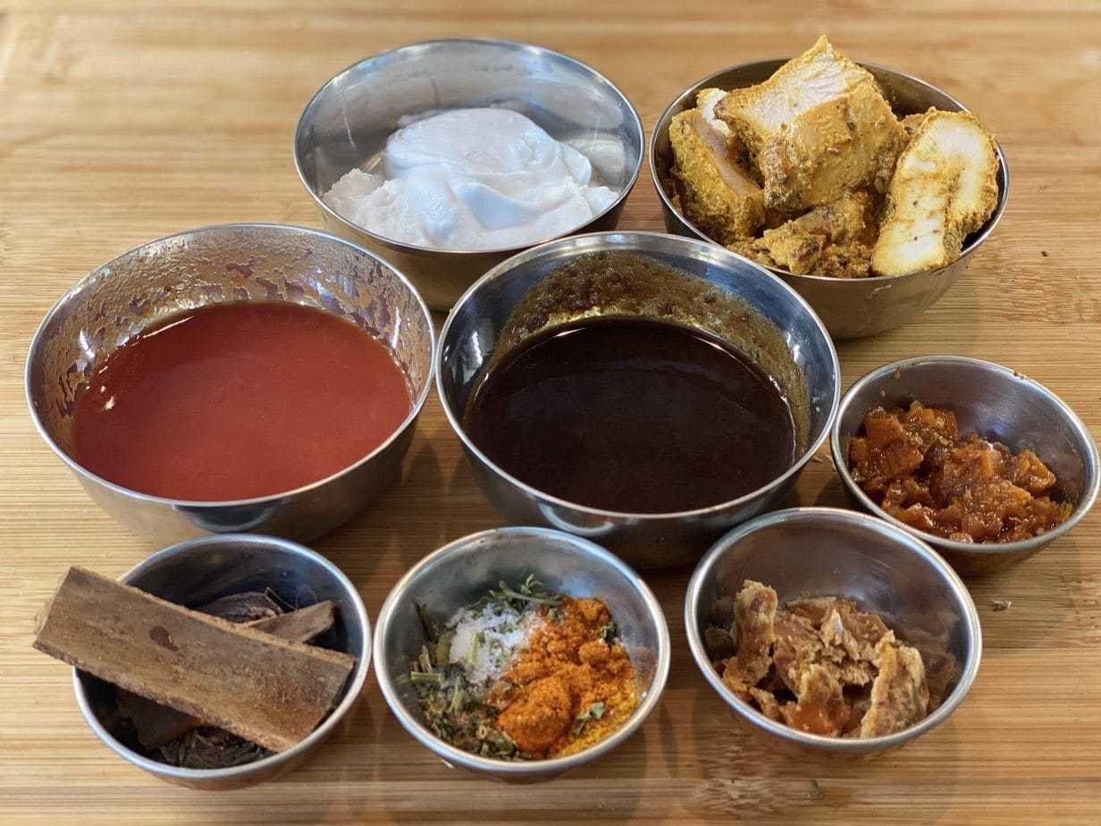 Tamarind Chicken Curry Ingredients