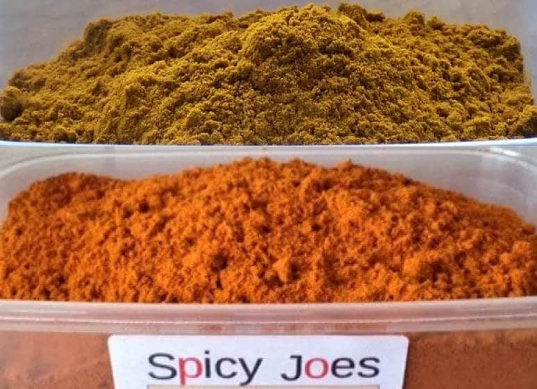 Both Misty Ricardo's Mix Powders from Spicy Joes