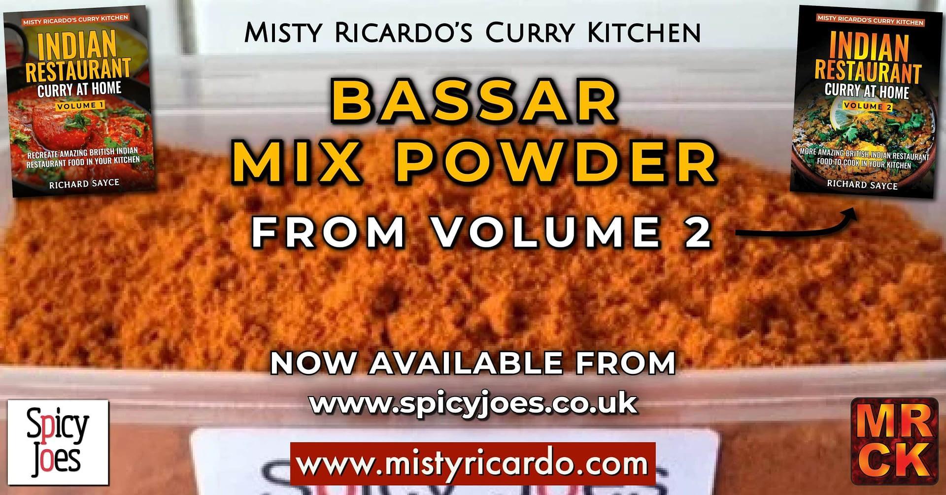 Spicy Joes - Misty Ricardo's Bassar Mix Powder
