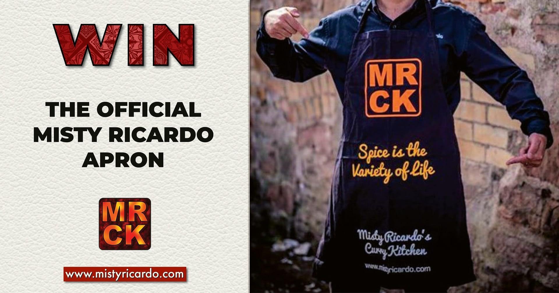 Win the Misty Ricardo Apron