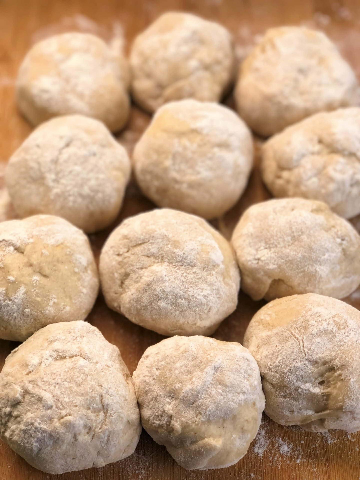 Naan Dough Balls