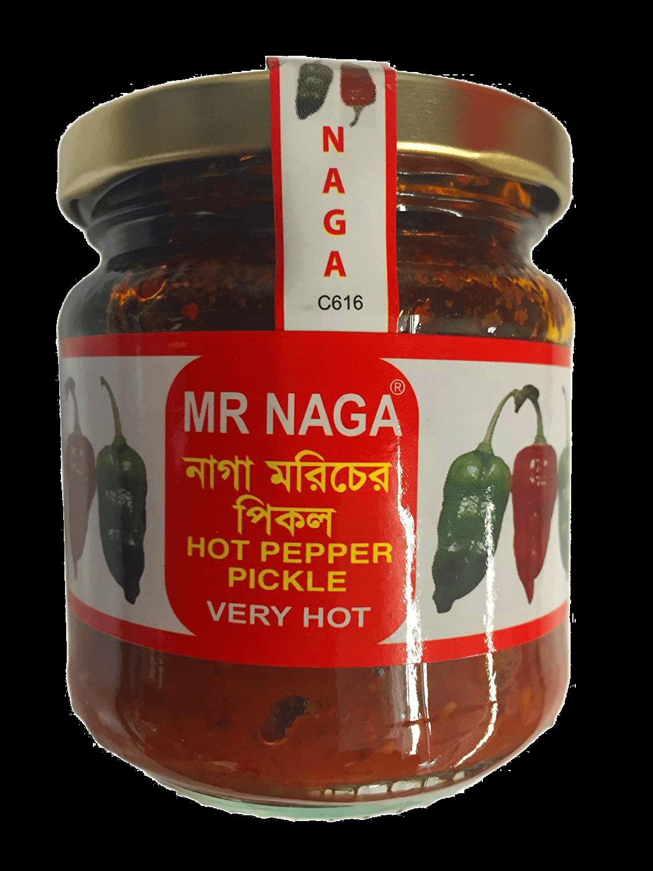 Jar of Mr Naga Chilli Pickle
