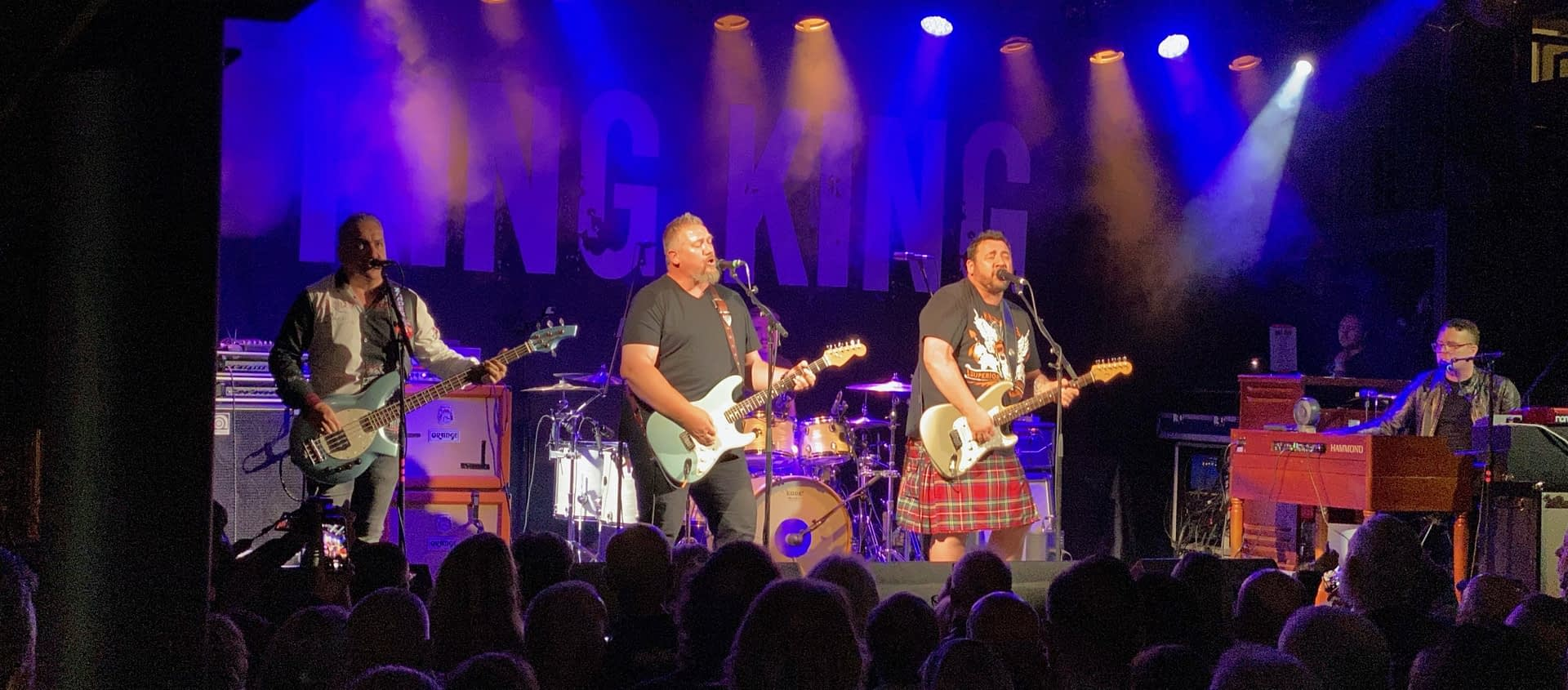 King King at Holmfirth Picturedrome Aug 7th 2021